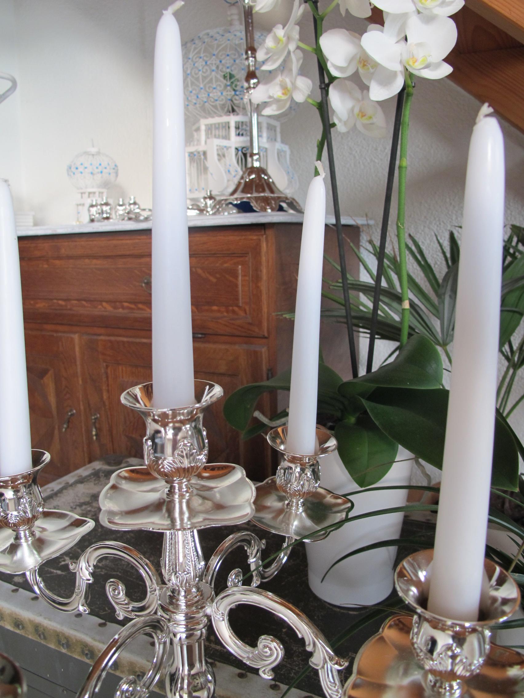 kerzen leuchter 5 armig dekotella. Black Bedroom Furniture Sets. Home Design Ideas