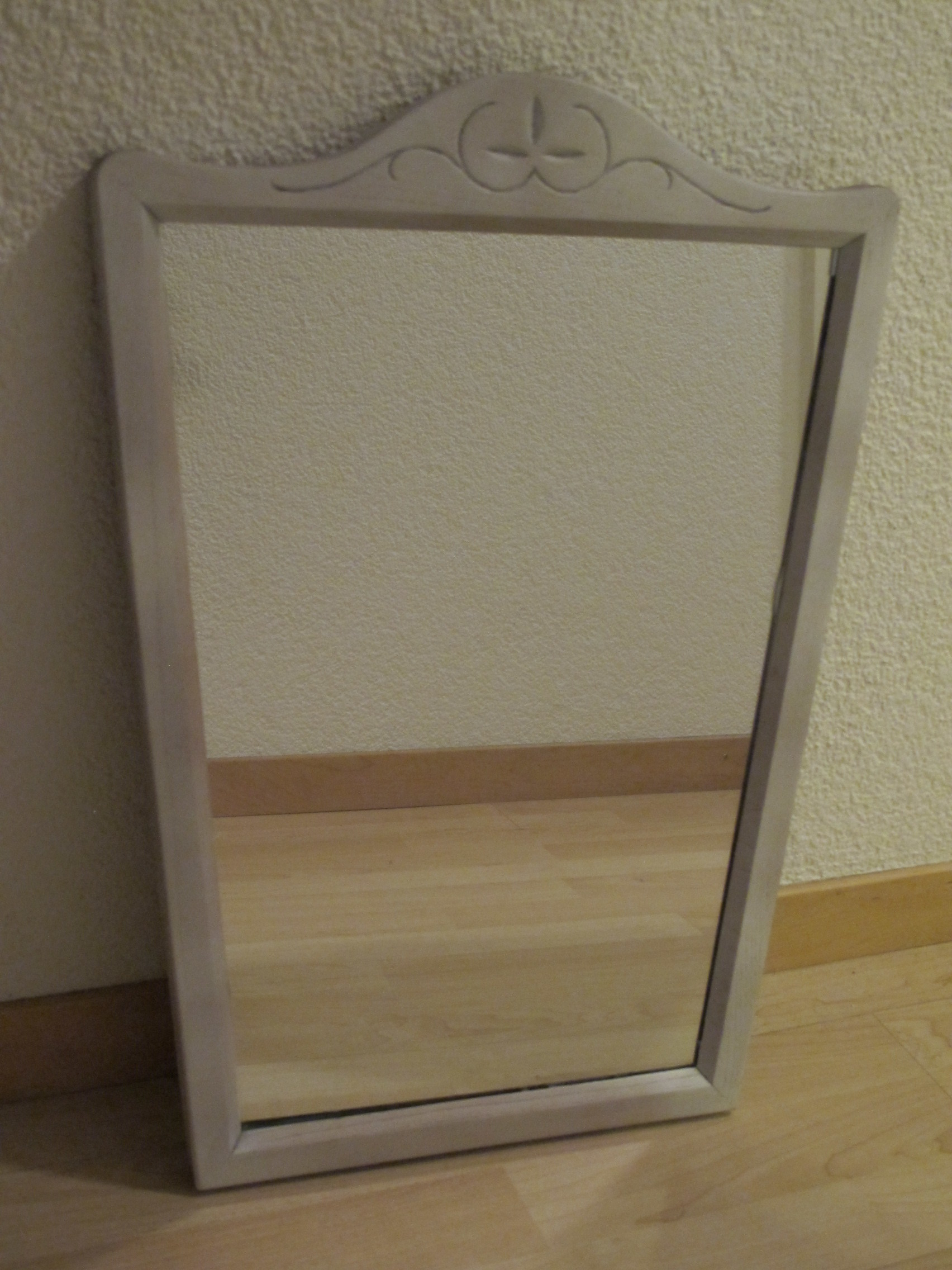 spiegel shabby chic dekotella. Black Bedroom Furniture Sets. Home Design Ideas